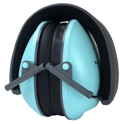 Radians Ladies Lowset Passive Ear Muffs Ladies Lowset Passive Earmuffs Aqua