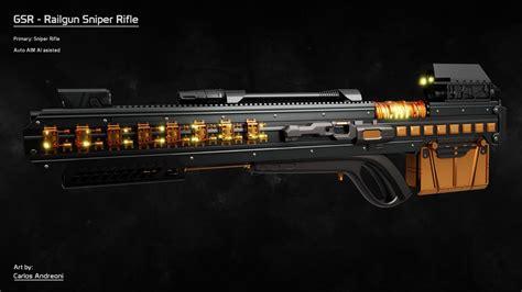 Railgun Sniper Rifle