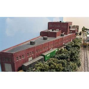 Railroad model buildings home page tutorials