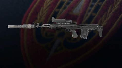 Rainbow 6 Siege Sniper Rifle