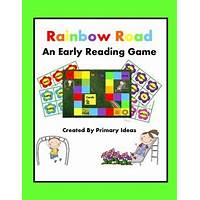 Cheap rainbow reader reading games and phonics games