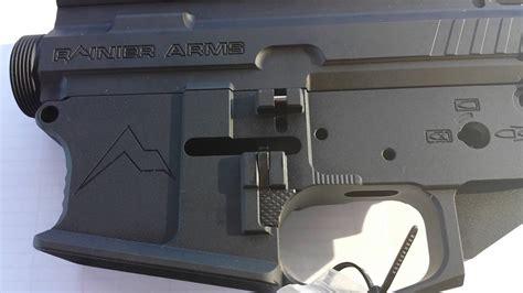 Rainier Arms Billet Ambidextrous Mod3