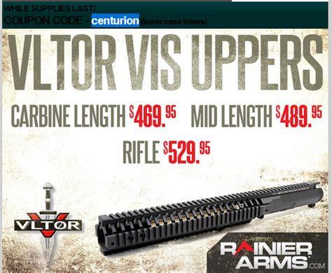 Rainier Arms Coupons 2017