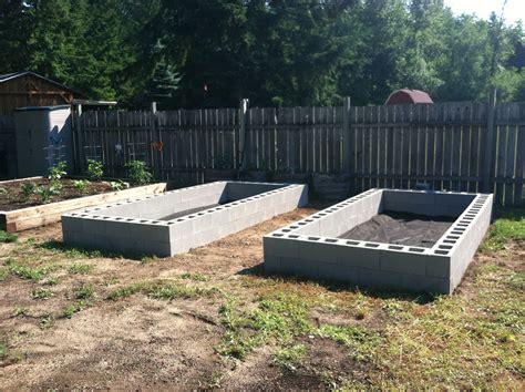 Raised Garden Beds Cinder Blocks