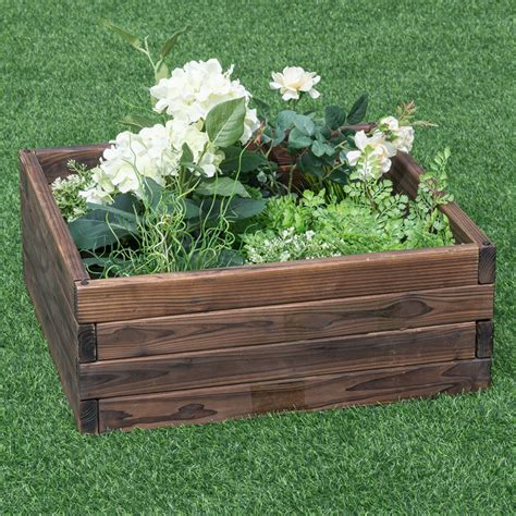Raised bed garden boxes Image