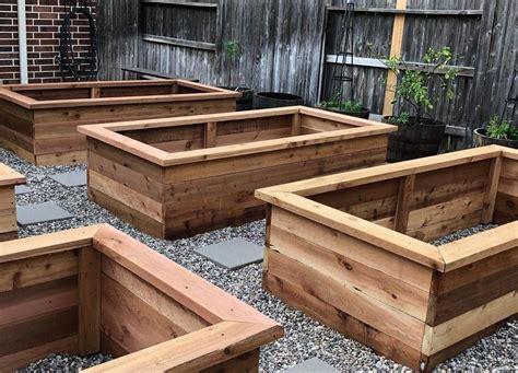 Raised cedar beds Image