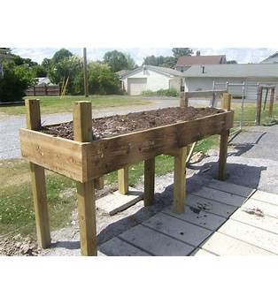 Raised Garden Bed Plans For Wheelchairs
