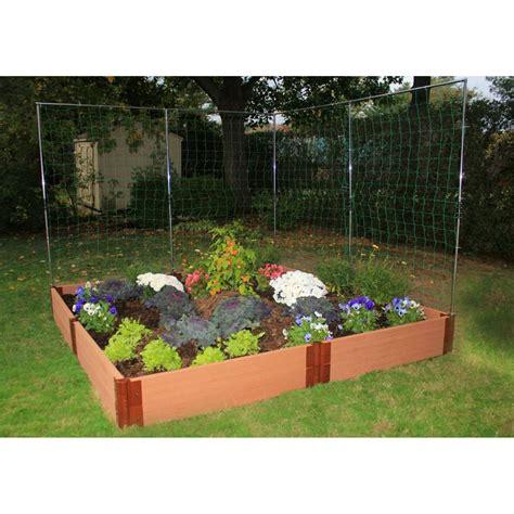 Raised garden bed supplies Image