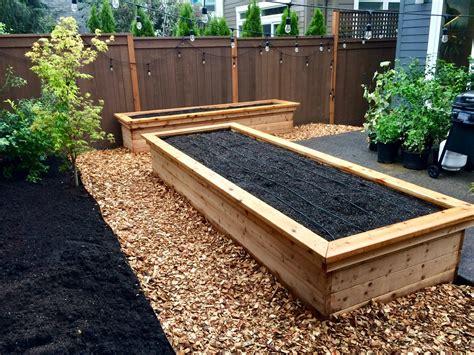 Raised garden beds Image