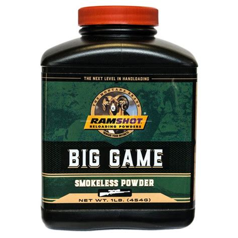 Ramshot Magnum Smokeless Powder 1 Pound Graf Sons