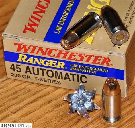 Ranger Sxt 45 Ammo