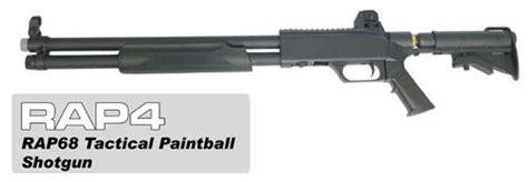 Rap68 Tactical Paintball Shotgun 16 Inch Barrel
