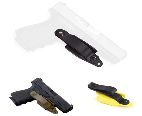 Raven Concealment Systems Vanguard 2 Holsters Basic Kit Glock Vanguard 2 Basic Kit Tuckable Soft Loop Wolf Grey