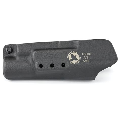 Raven Concealment Systems Vanguard 3 Holsters Vanguard 3 Surefire X300u Ab Tuckable Soft Loop Black