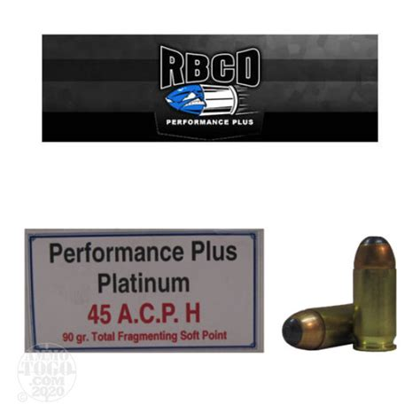 Rbcd 45 Acp Ammo Review