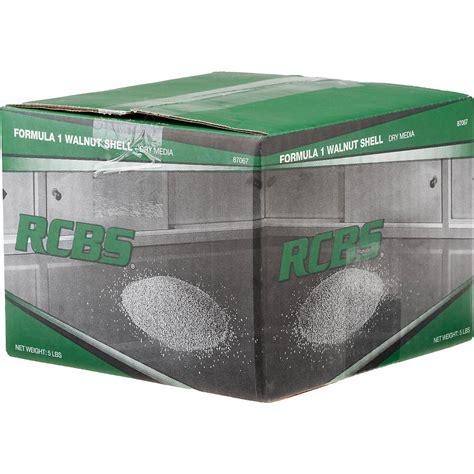 Rcbs Case Cleaning Media Formula 1 Walnut Shell Media 5 Lbs