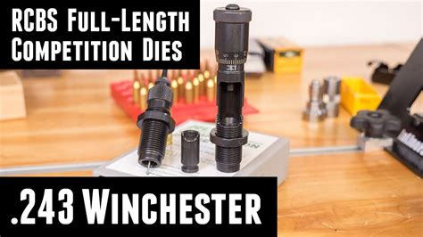 Rcbs Competition Fulllength Sizer Dies Competition Full Length Die 243 Win