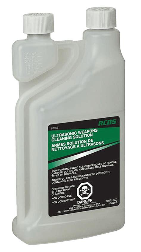 Rcbs Ultrasonic Case Cleaner Ultrasonic Gun Cleaning Solution 32 Oz
