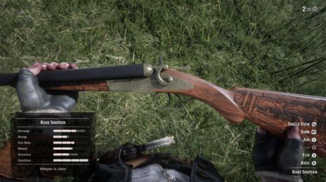 Rdr2 Online Double Barrel Shotgun Vs Rare Shotgun
