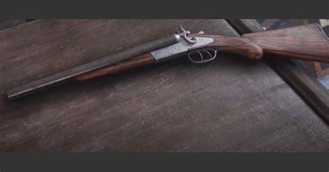 Rdr2 Double Barrel Shotgun Vs Oump