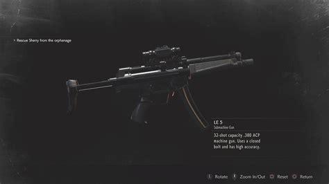 Re2 Infinite Ammo Guns