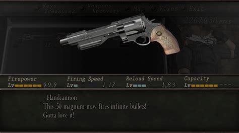 Re4 Best Handgun