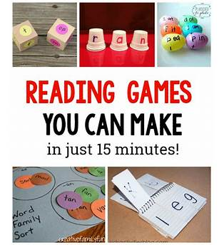 Reading Games For Kid