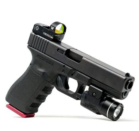 Rear Sight Mounted Red Dot For Glock 19 Gen 5