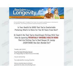 Reclaim your longevity: 8 simple steps to dial in 20 more years of peak performance living step by step