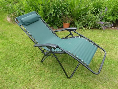 Reclining sun lounger chair Image