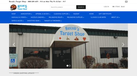 Recob S Target Shop Specializing In Reloading Supplies