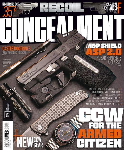 Recoil Presents Concealment Magazine Digital