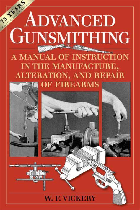 Recommended Gunsmithing Books