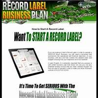 Record label business plan 2 016 music and entertainment contracts! bonus