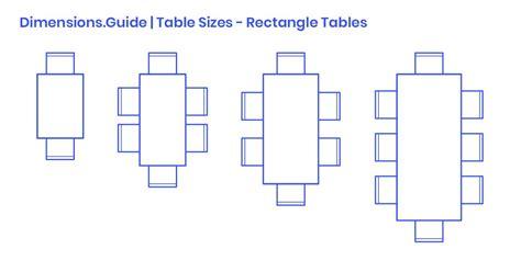 Rectangular Dining Table Plans