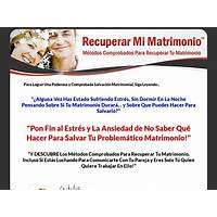 Cash back for recuperar mi matrimonio sin opt in