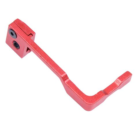 Red Anodized Extended Bolt Catch
