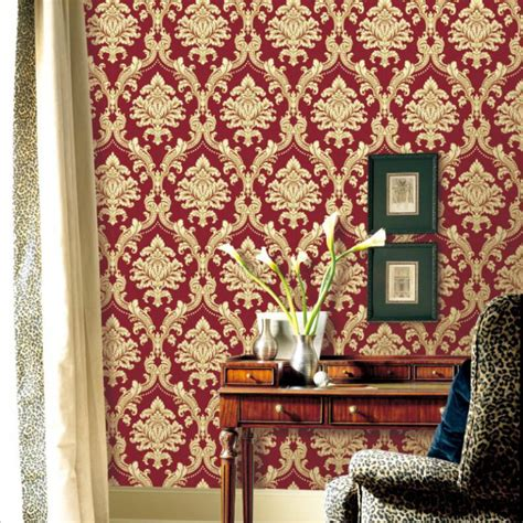 Red Damask Wallpaper Home Decor Home Decorators Catalog Best Ideas of Home Decor and Design [homedecoratorscatalog.us]