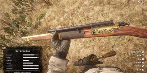 Red Dead 2 Best Rifle For Hunting