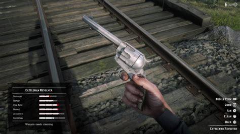 Red Dead 2 How To Clean Gour Gun