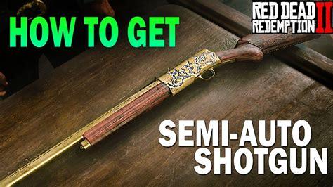 Red Dead 2 Semi Auto Shotgun Unlock