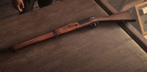 Red Dead Redemption 2 Bolt Action Rifle Early