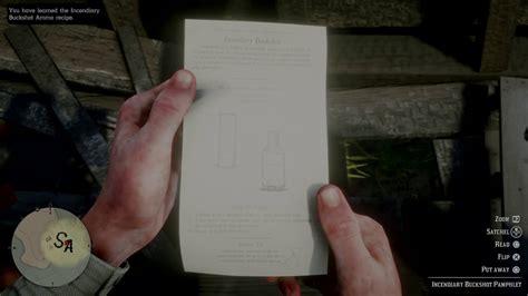 Red Dead Redemption 2 Crafted Shotgun Ammo
