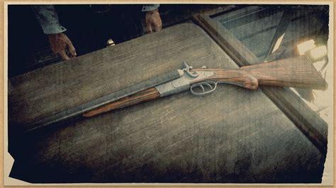 Red Dead Redemption 2 Drop Carbine For Double Barrel Shotgun