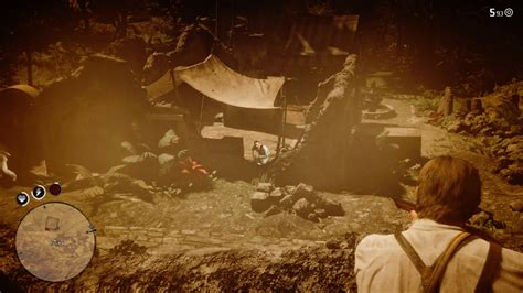 Red Dead Redemption 2 Man Trapped Under Gunsmith And Ryan Pierce Gunsmithing