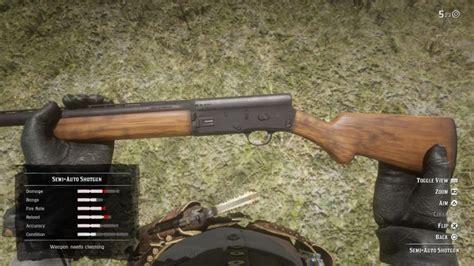 Red Dead Semi Auto Shotgun