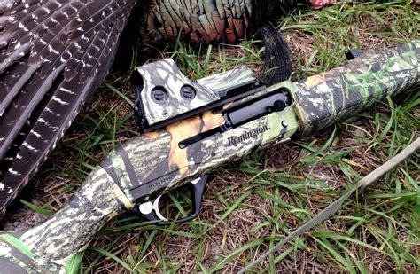 Red Dot On Shotgun Turkey Hunting