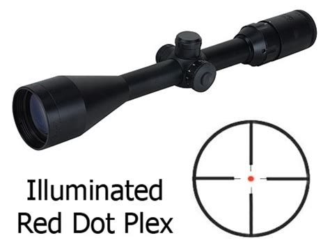 Rifle-Scopes Red Dot Reticle Rifle Scopes.