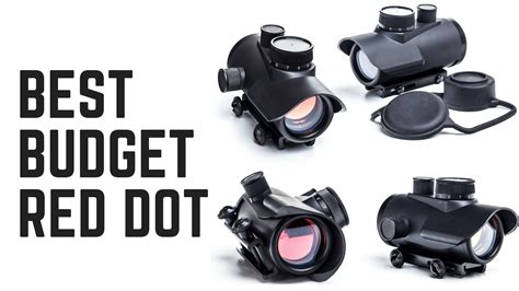 Red Dot Sight Budget And Red Dot Sight With Crosshair
