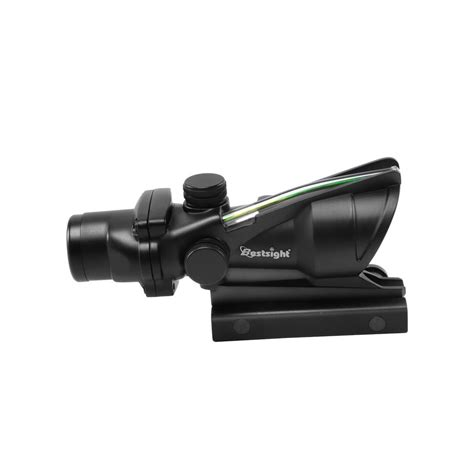 Red Dot Sight With Dot Etched In Glass